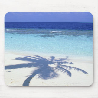 Shadow of Palm Tree Mouse Mat