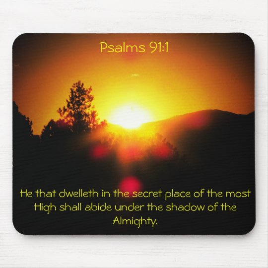 Shadow of the Almighty - Psalms 91:1 Mouse Mat