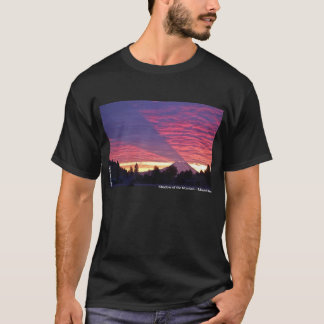 Shadow of the Mountain - Mount Rainier T-Shirt