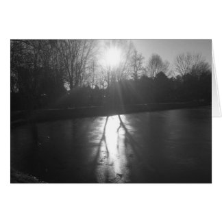 Shadow on Ice - Noir, card