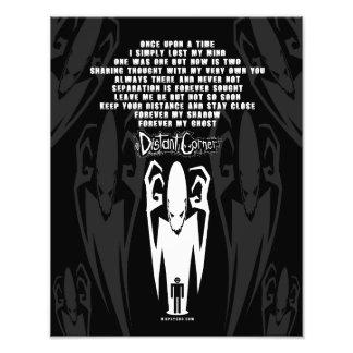 Shadow Poem Photo Print