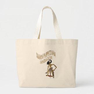 Shadow Puppets Bima Indonesian culture Bag