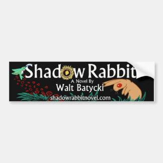 Shadow Rabbit Bumper Sticker