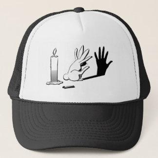 Shadow Rabbit by Lightillusions.com Trucker Hat