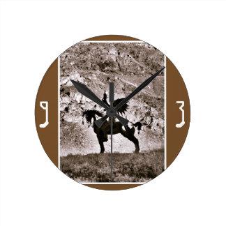 Shadow Rider Wall Clock