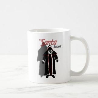 Shadow Santa Mug