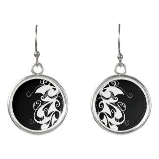 Shadow Swirl Earrings
