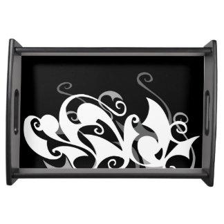 Shadow Swirl Tray