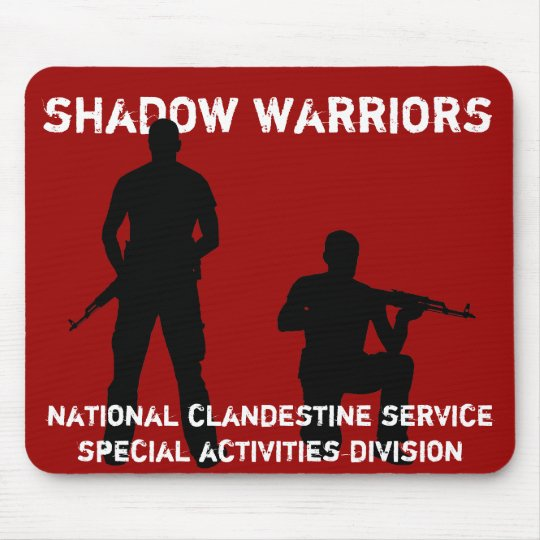 Shadow Warriors - CIA National Clandestine Service Mouse Mat