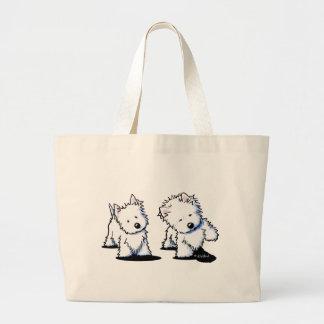 Shadowboxing Westies Bags