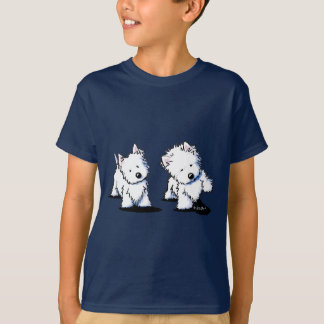 Shadowboxing Westies T-Shirt