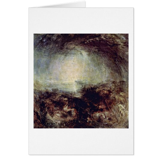 Shadows And Darkness By Joseph William Turner Card