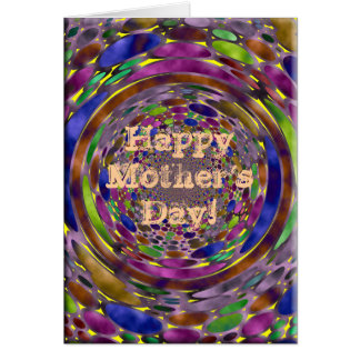 Shadows Mother's Day Greeting Card