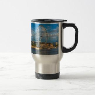 Shadows of the London Eye Travel Mug