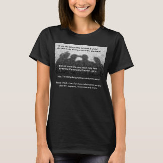 Shadows Picture Black T-Shirt