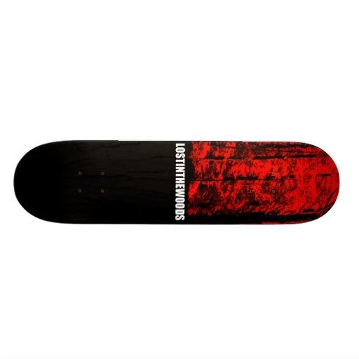 shadows skate deck