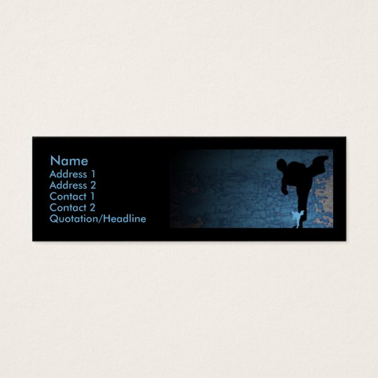 shadowstance : martial arts : S : Mini Business Card