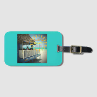 Shady Beach Club Luggage Tag
