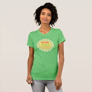 Shady Beach No Tan Lines T-Shirt