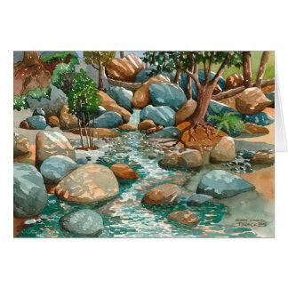 Shady Creek, Nevada City CA Card