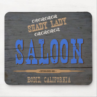 Shady Lady Saloon Mouse Pads