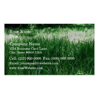 Shady Meadow on a sunny day Business Cards