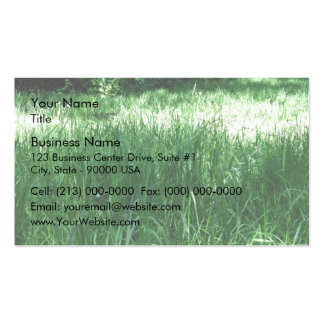 Shady Meadow on a sunny day Business Card Template
