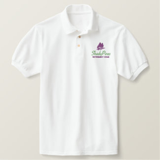 Shady Pines Retirement Home Embroidered Logo Embroidered Shirts