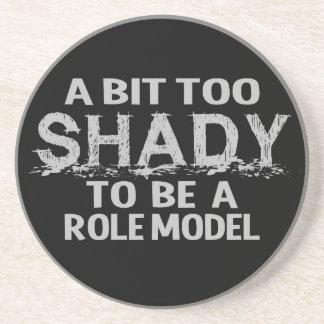 Shady Role Model coaster