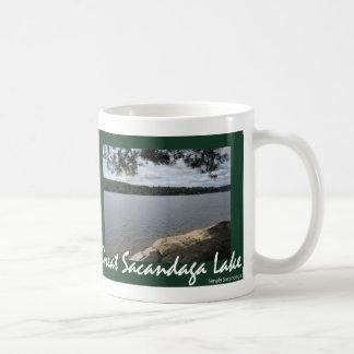 Shady Serenity Basic White Mug