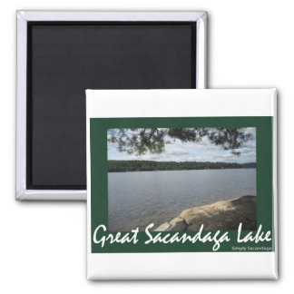 Shady Serenity Square Magnet