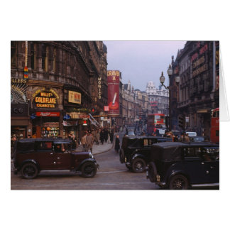 Shaftesbury Avenue 1949 Greeting Card