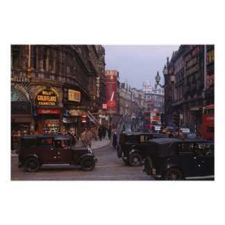Shaftesbury Avenue 1949 Poster