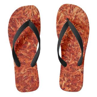 Shag Carpet Flip Flops
