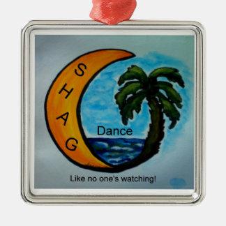 SHAG Dance Ornament