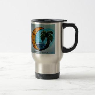 Shag Mug Ocean Scene Color