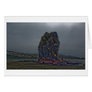 Shag Rock, Sumner, Christchurch, New Zealand Greeting Card