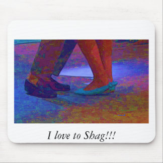Shag with me mouse pads