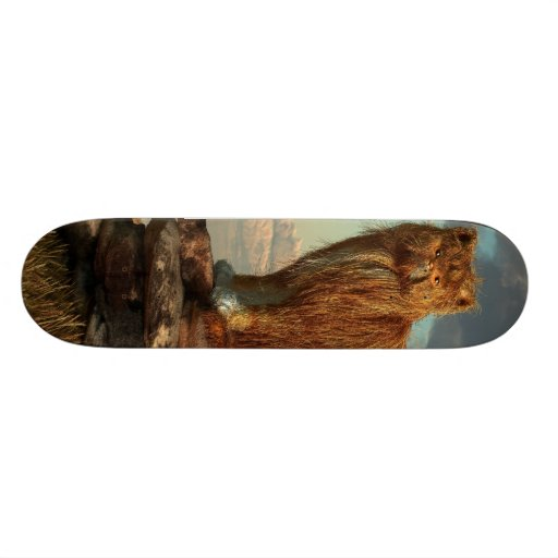 Shaggy Cat Skate Decks