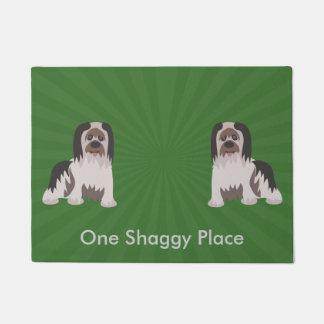 Shaggy Dog Custom Doormat