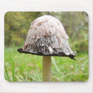 Shaggy Ink Cap Mushroom Mouse Mat