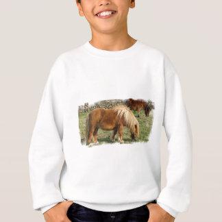 Shaggy Shetland Pony Children's Sweatsihrt Shirts