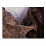 Shahara Bridge, 9000 ft. chasm, Yemen Post Cards