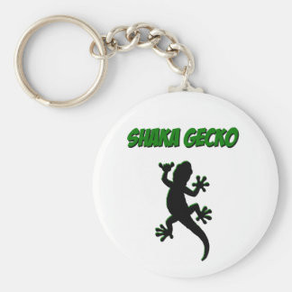 Shaka Gecko Keychain
