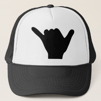 Shaka Hand Design Trucker Hat