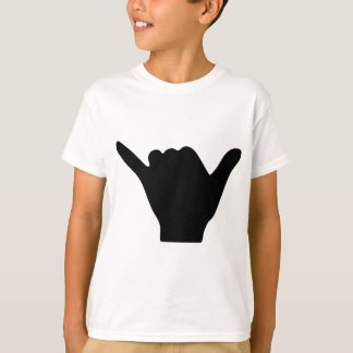 Shaka Hand Design Tshirt