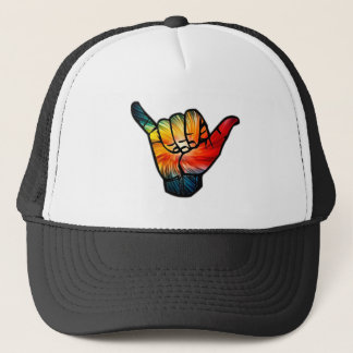 Shaka Rainbow Trucker Hat