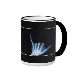Shaka Sign X-Ray Hang Loose Mugs
