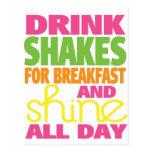Shake and Shine Post Card