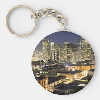 Shake Dreams From Your Hair Basic Round Button Key Ring